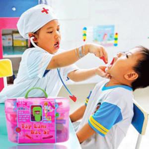 Bộ Đồ Chơi Tập Làm Bác Sĩ 17 Món Cho Bé Hàng Việt Nam