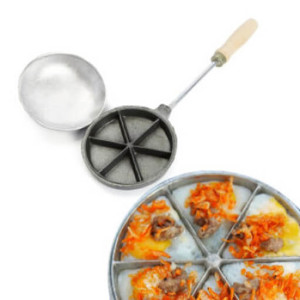 Khuôn Làm Bánh Trứng Cút Nướng Bánh Tam Giác Chống Dính Hàng VNCLC