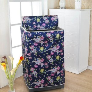 Áo Trùm Máy Giặt được may bằng vải satin có khả năng chống thấm nước, chống nắng