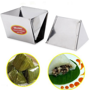 Bộ 2 Khuôn Làm Bánh Giò Inox Dragon Hàng VNCLC