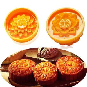 Bộ 4 Khuôn Làm Bánh Trung Thu Nén Làm Xôi Truyền Thống