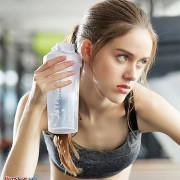Bình Lắc Thể Thao Pha Chế Sữa Protein Pha Chế Cafe Nước Ép Đa Năng
