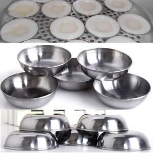 - Bộ 20 Chén Inox Làm Bánh Bèo, Đựng Nước Chấm Tiện Dụng