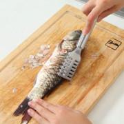 - Bộ 2 Dụng Cụ Đánh Vẩy Cá Tiện Dụng Hàng VNCLC inox