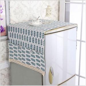 Khăn Trải Phủ Tủ Lạnh Máy Giặt 6 Túi Vải Chống Thấm